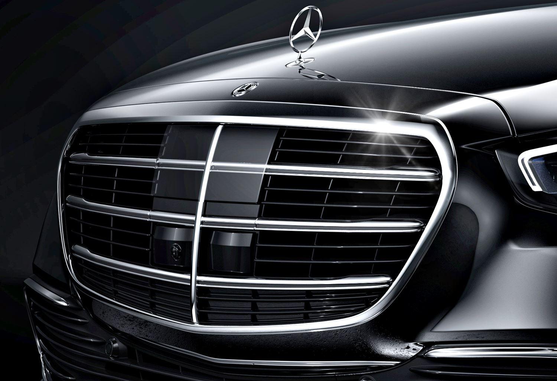 Mercedes S-Klasse W223 Lidar