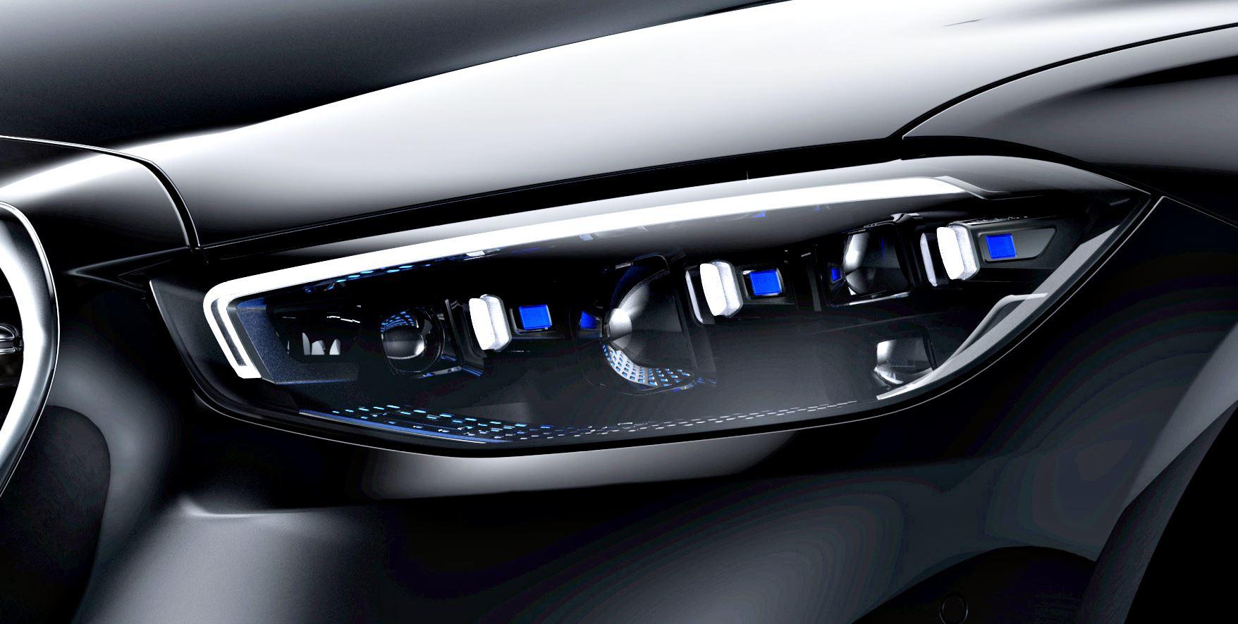 Mercedes S-Klasse W223 Digital Light