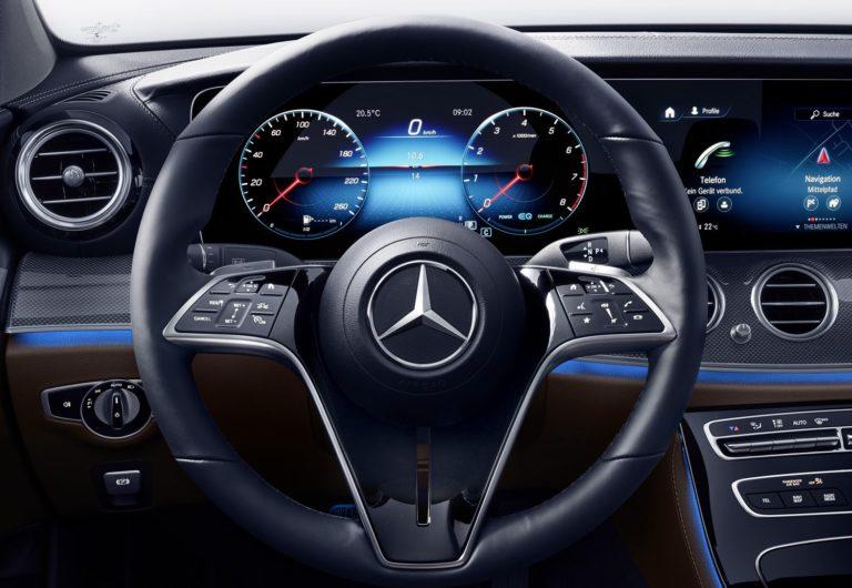 Mercedes E-Klasse Lenkrad