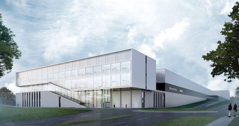 Mercedes-Benz Werk Sindelfingen Factory 56