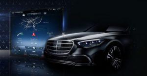 Mercedes S-Klasse mit MBUX