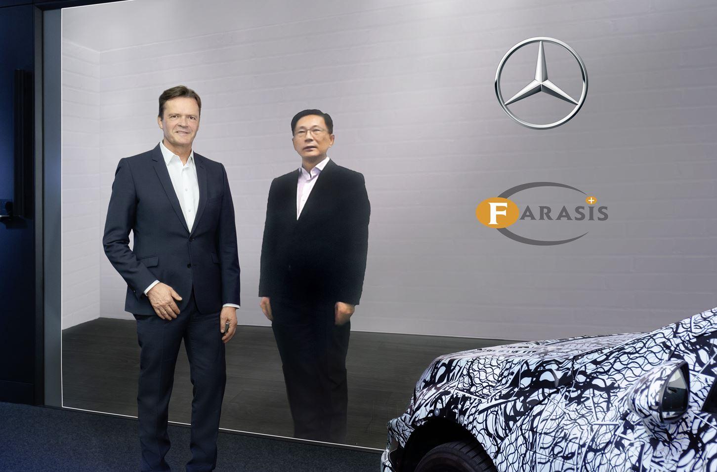 Mercedes-Benz und Farasis