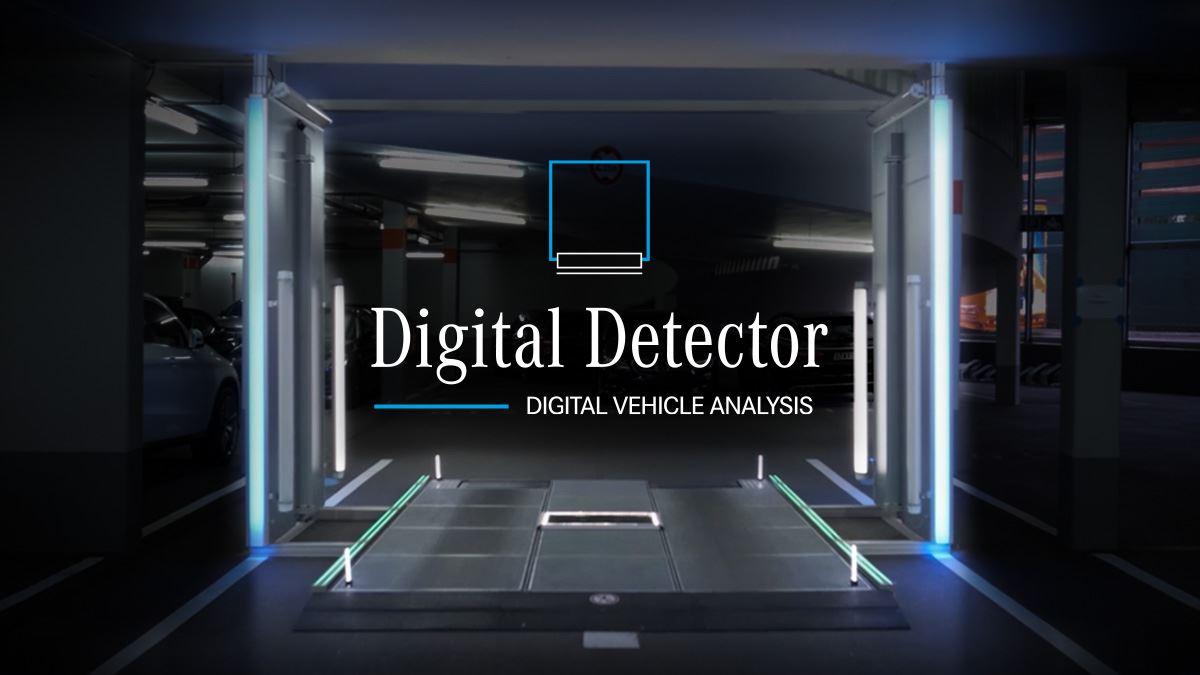 Mercedes Digital Detector