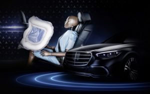 Mercedes S-Klasse Fondairbag