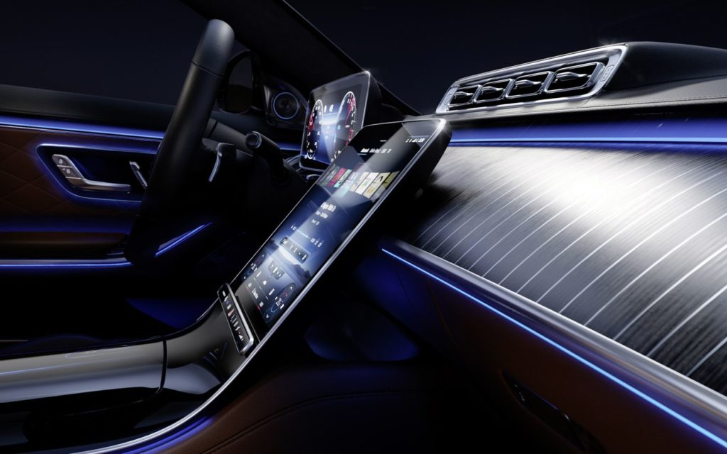 Mercedes-Benz S-Klasse mit MBUX 7.0