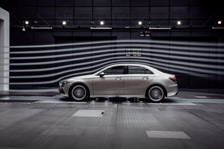 Mercedes-Benz A-Klasse Limousine V177 Aerodynamik