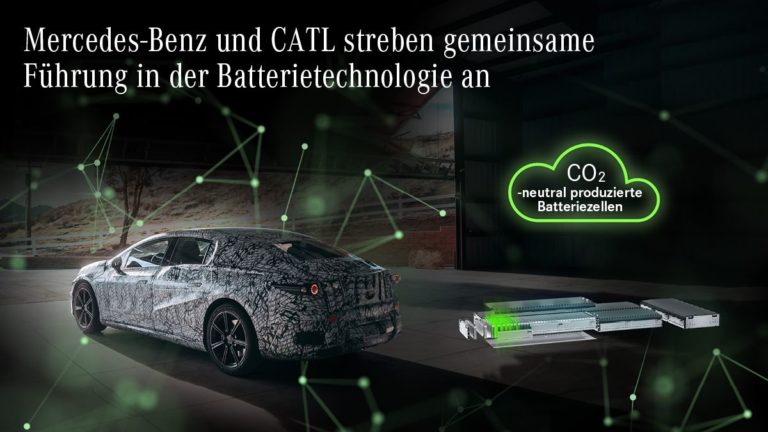 Mercedes-Benz Batterie EQS CATL