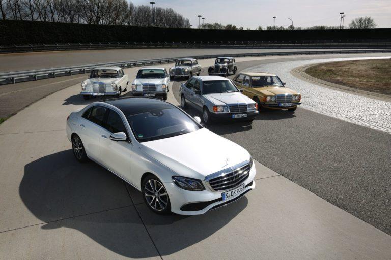 Mercedes E-Klasse Geschichte
