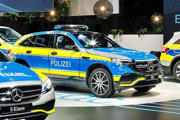 Mercedes EQC Polizei