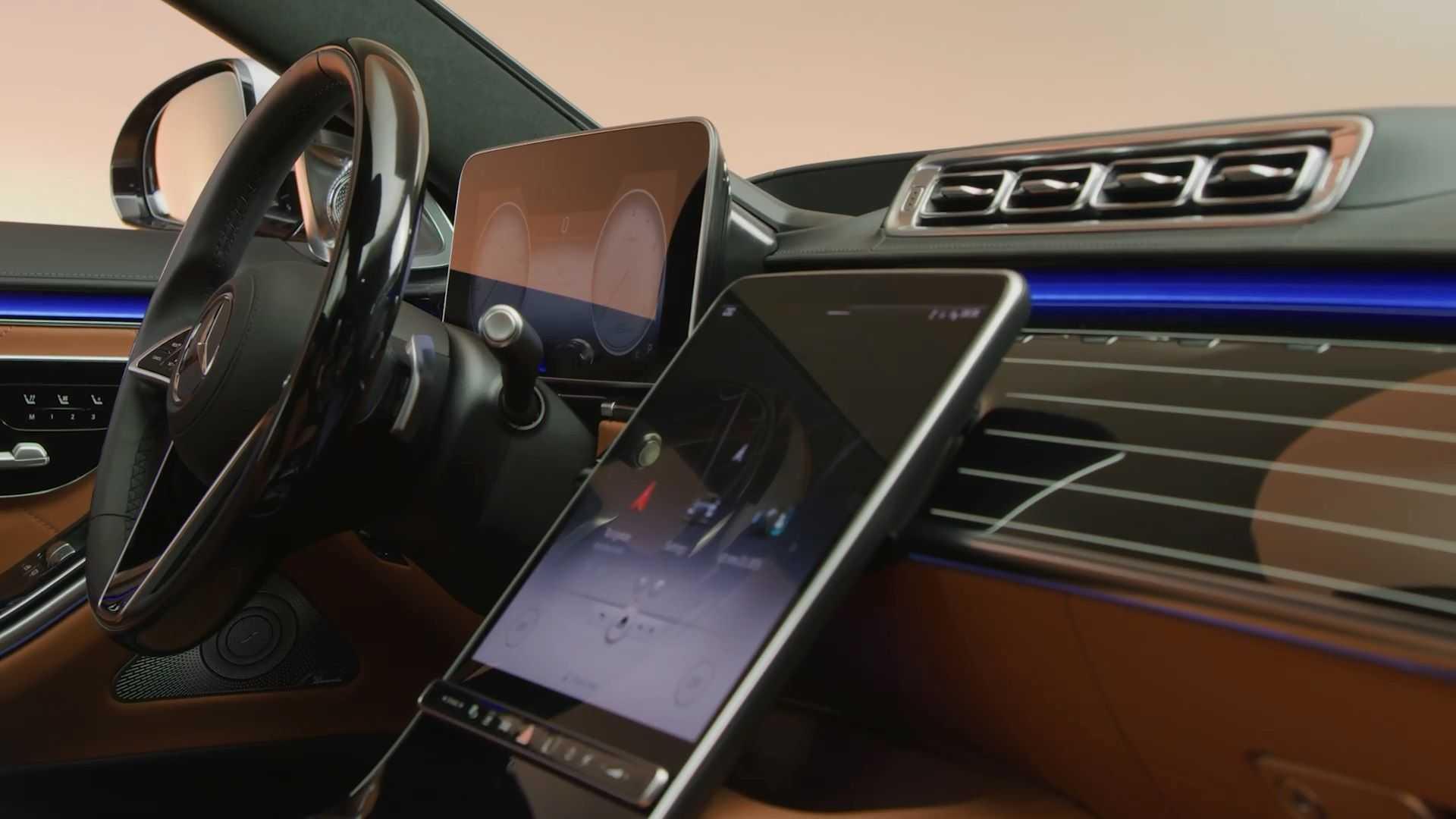 Mercedes S-Klasse W223 Interieur