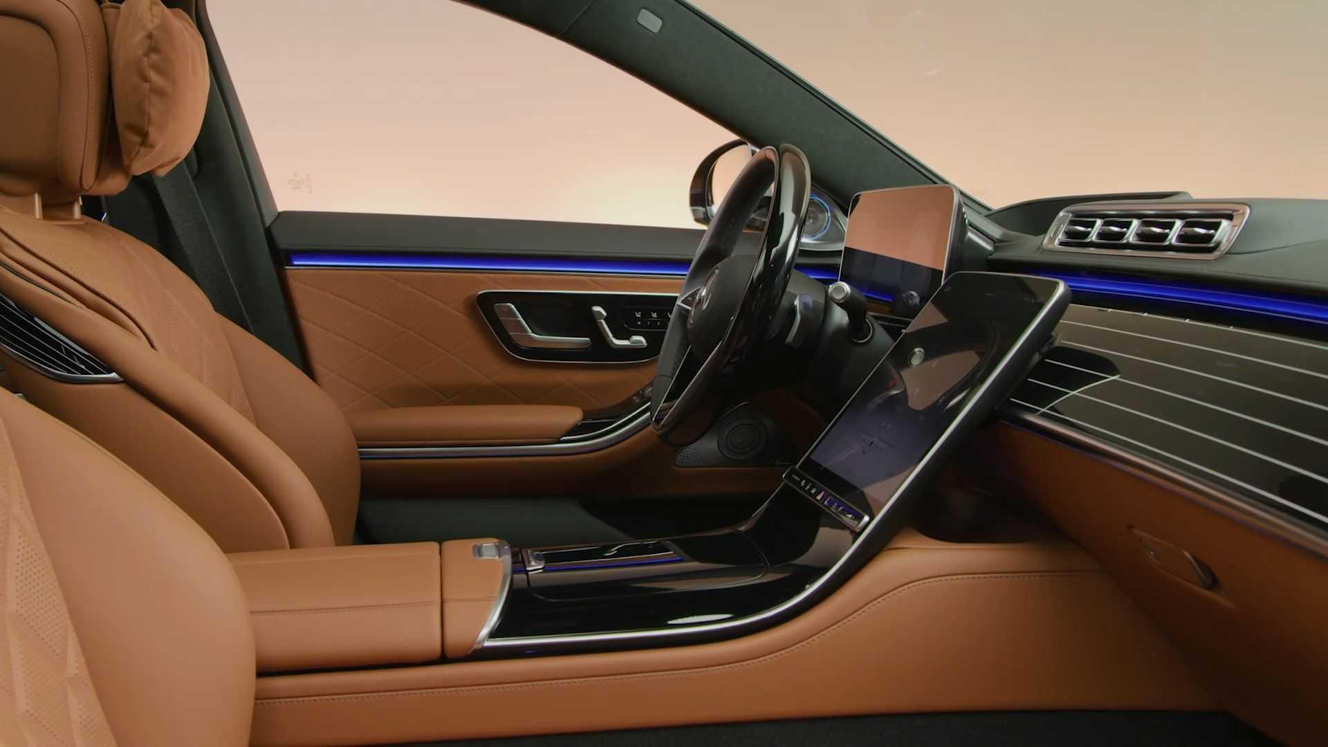 Video: Mercedes S-Klasse Interieur - JESMB
