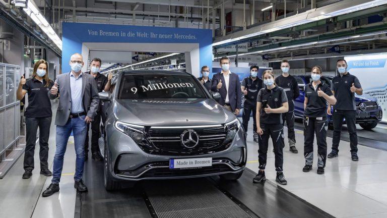 Mercedes EQC Produktion Bremen