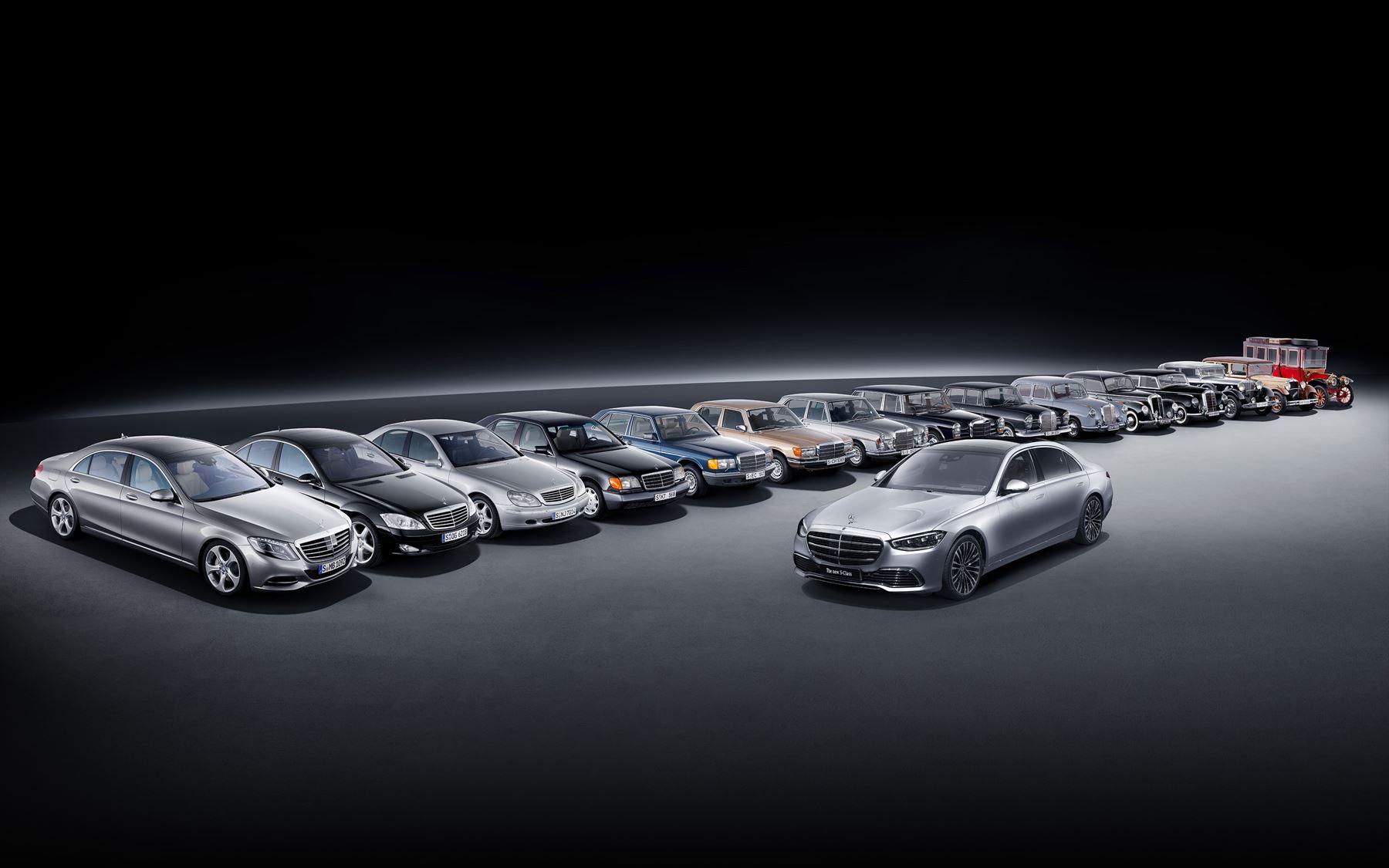 Mercedes-Benz S-Klasse Historie