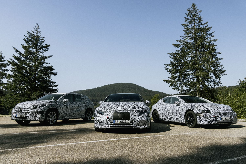 Mercedes Electric First EQS