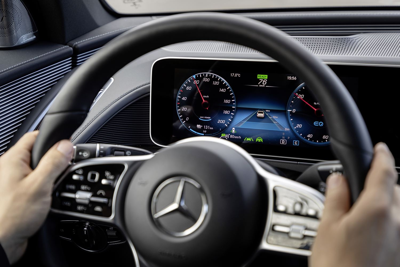 Mercedes EQC Spurhalteassistent