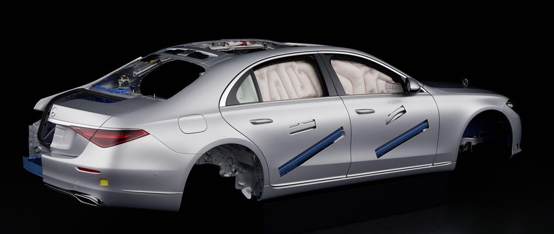 Mercedes S-Klasse passive Sicherheit W223