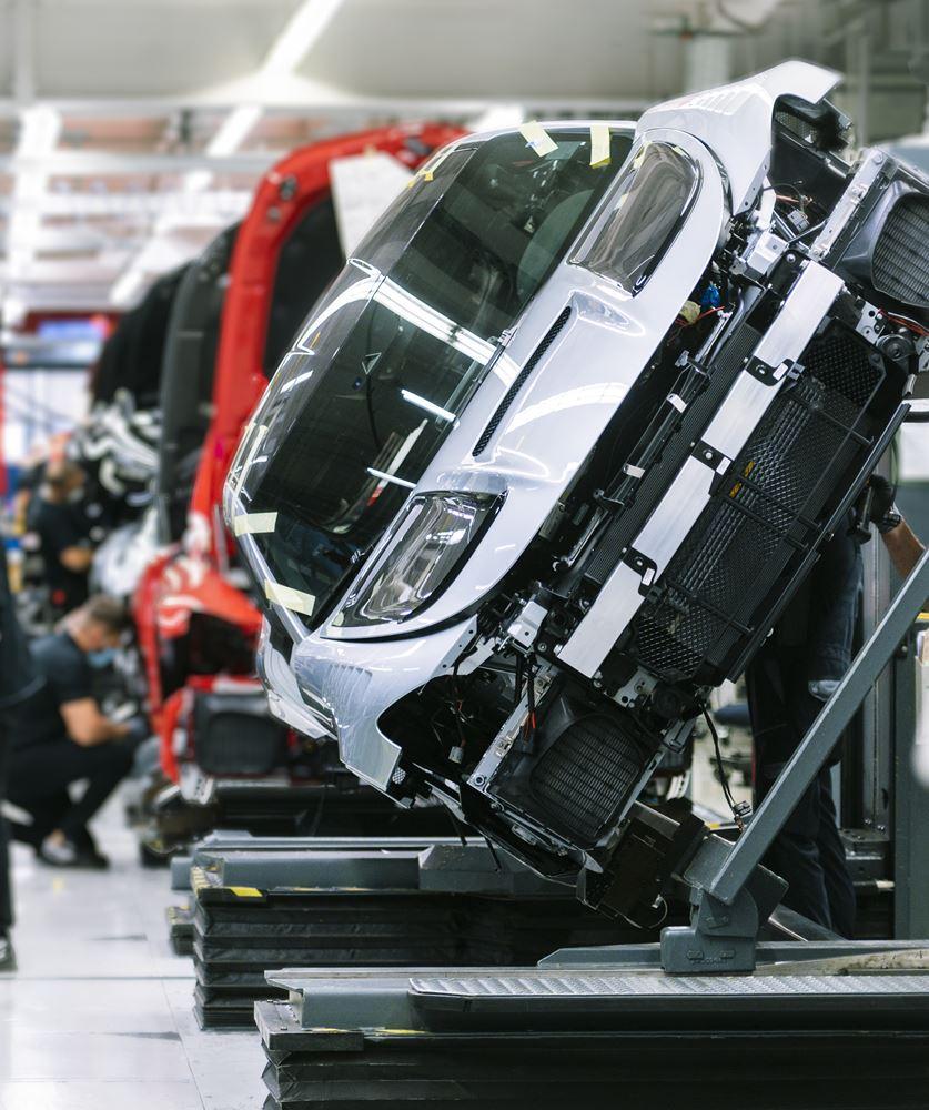 Mercedes AMG GT Black Series Produktion Sindelfingen