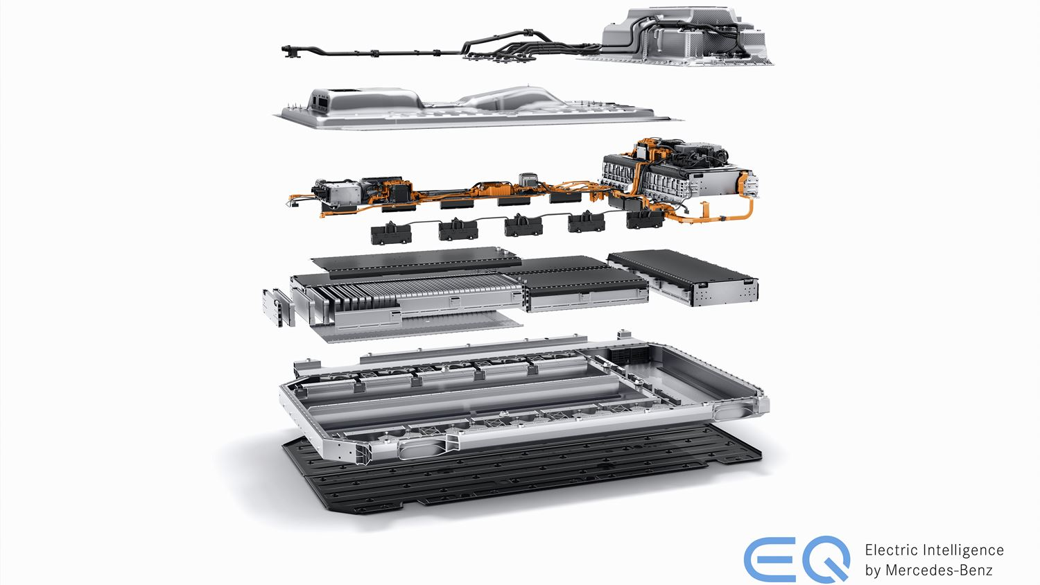 Mercedes EQC Batterie