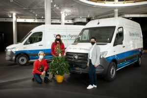 Mercedes-Benz eSprinter WunderTree