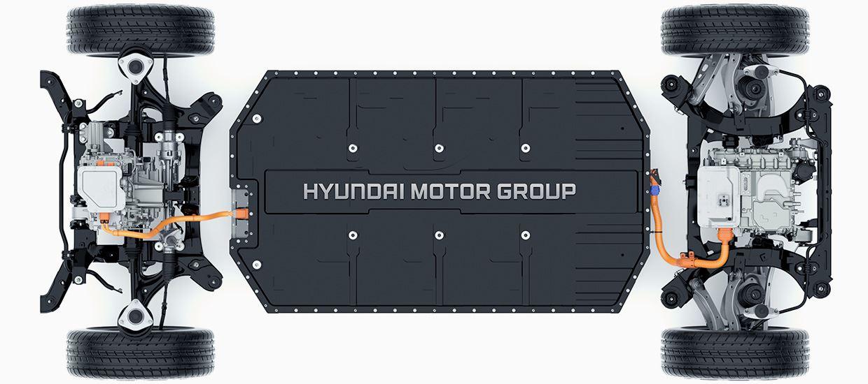 Hyundai e-gmp Elektroauto-Plattformen