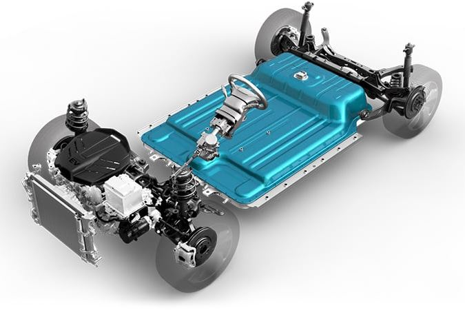 Hyundai Kona electric Batterie