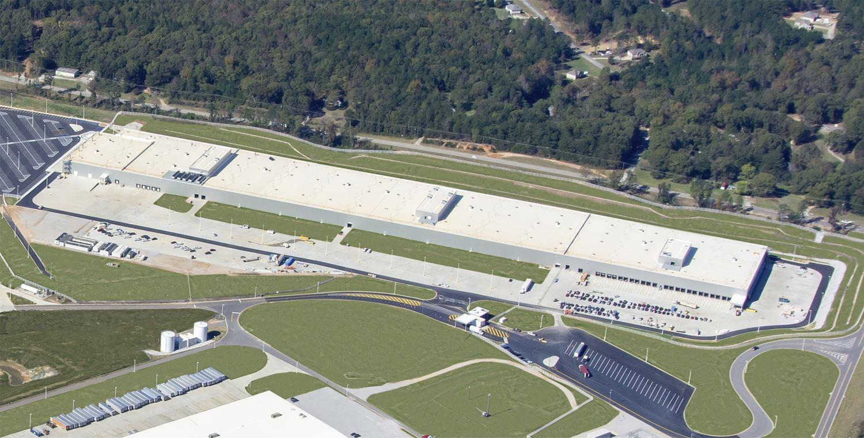 Mercedes Werk Tuscaloosa Batterieproduktion