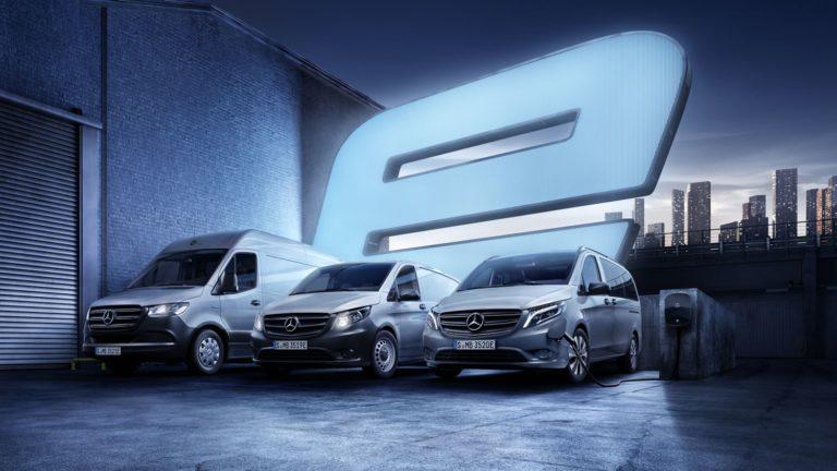 Mercedes-Benz eVans Versicherung