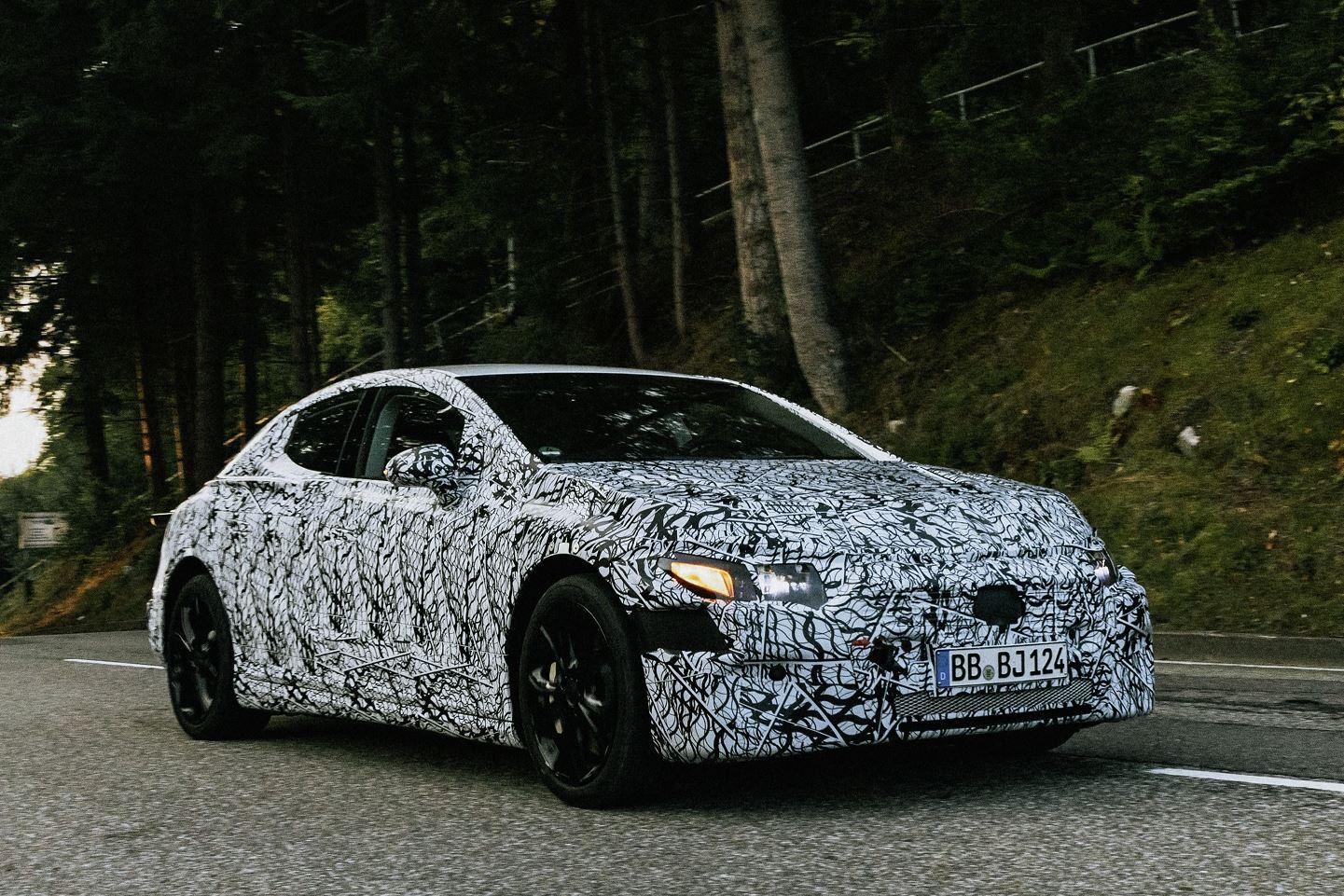 Mercedes EQE Erprobung