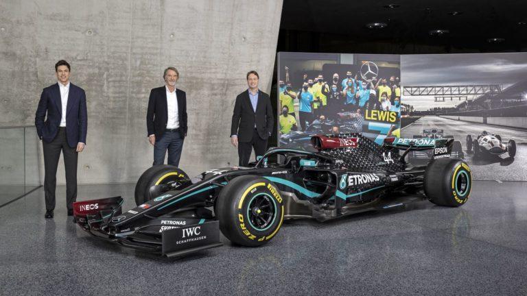 Mercedes Formel 1 Team ineos