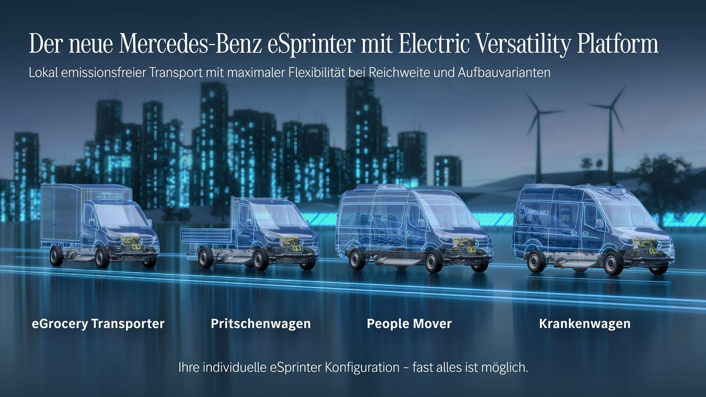 Mercedes eSprinter EVP