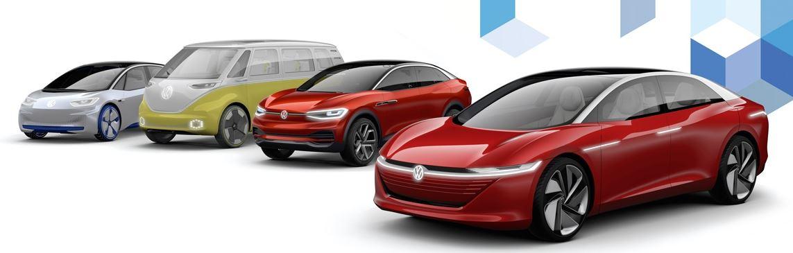 Volkswagen MEB Elektroauto-Plattformen