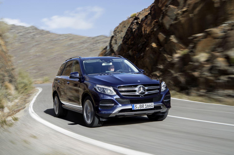 Mercedes GLE W166