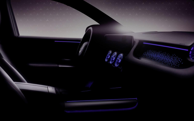 Mercedes EQA Interieur Teaser