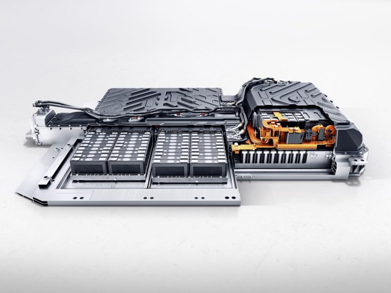 Mercedes EQA Batterie