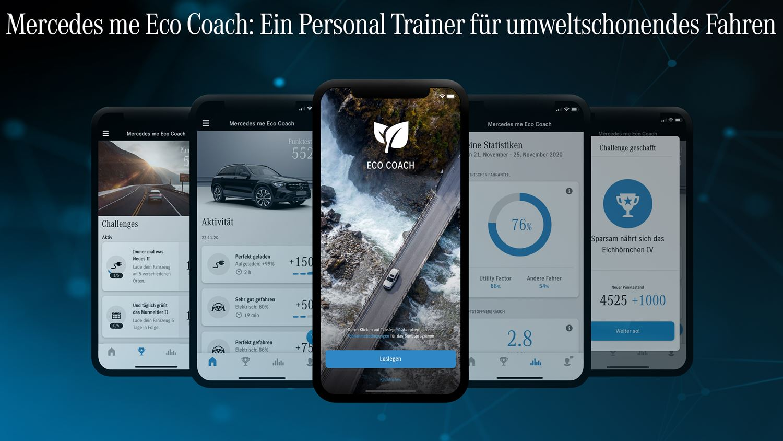 Mercedes me eco coach Plug-in-Hybrid
