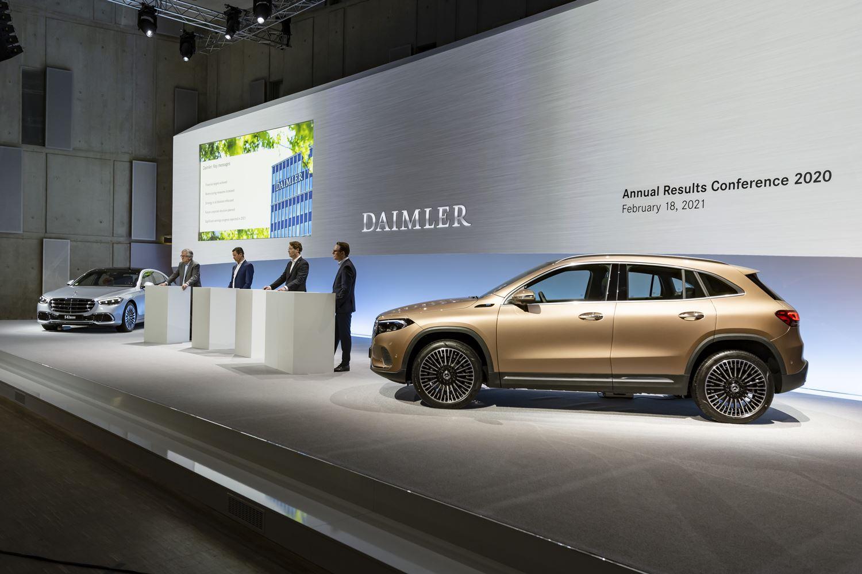 Mercedes Benz Cars Ergebnis 2020