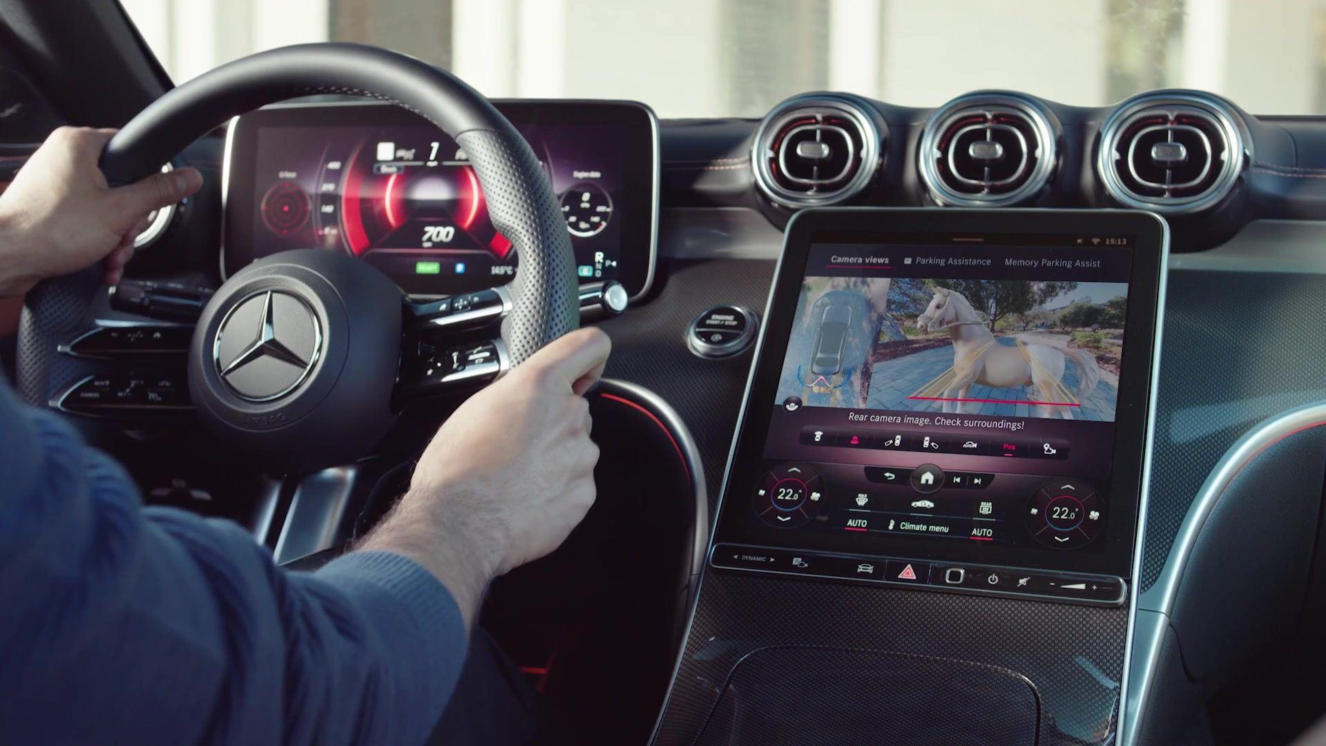 Mercedes C-Klasse W206 360 Grad Kamera