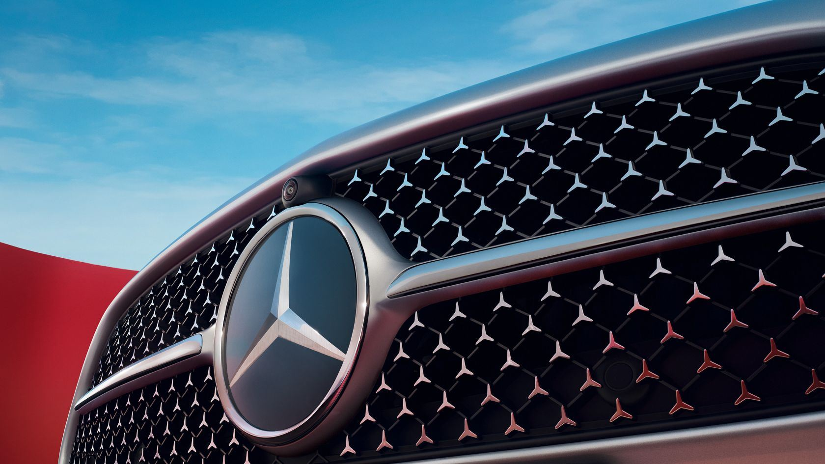 Mercedes C-Klasse 2021 AMG Grill