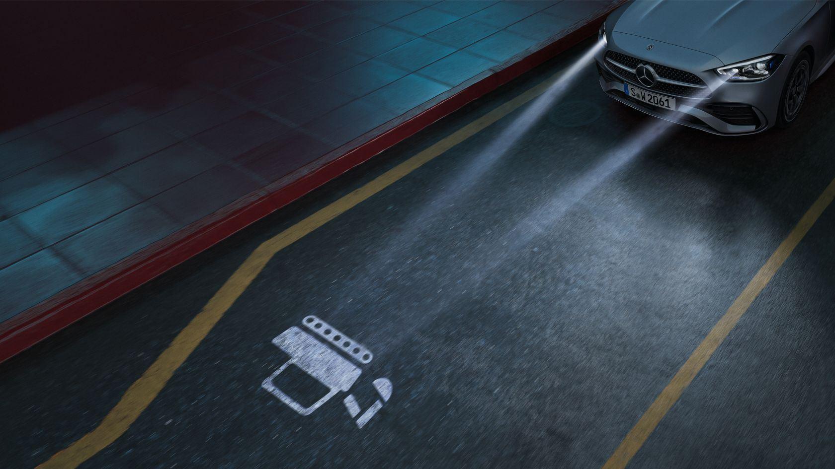 Mercedes C-Klasse Digital Light