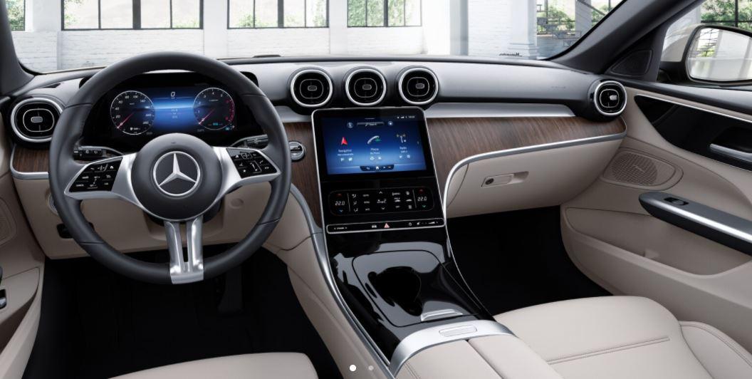 Mercedes C-Klasse kleines Display
