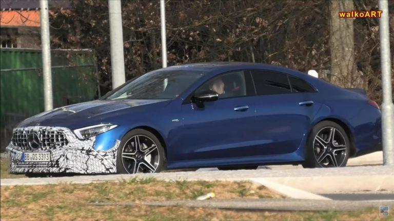 Mercedes CLS 53 AMG Facelift