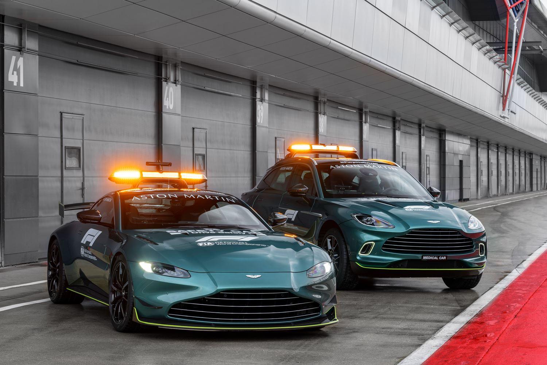 Aston Martin Safety Car 2021