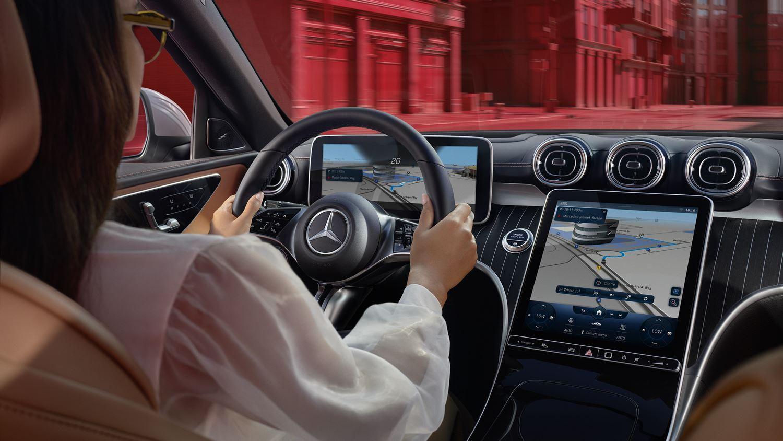 Mercedes C-Klasse MBUX