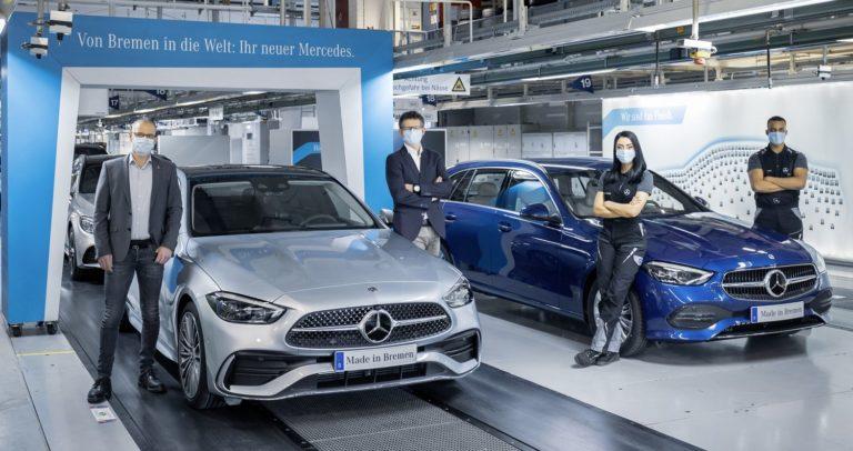 Mercedes C-Klasse Produktionsstart Bremen
