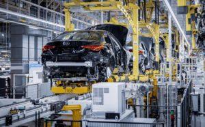 Mercedes C-Klasse W206 Produktion