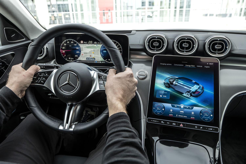 Mercedes C 300e Plug-in-Hybrid