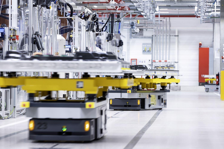Mercedes EQS Batterieproduktion