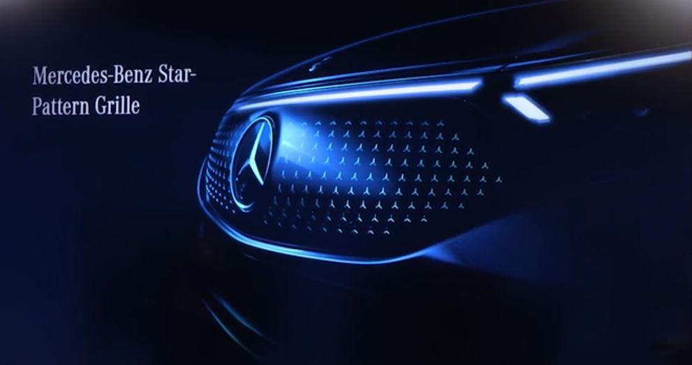Mercedes EQS Grill