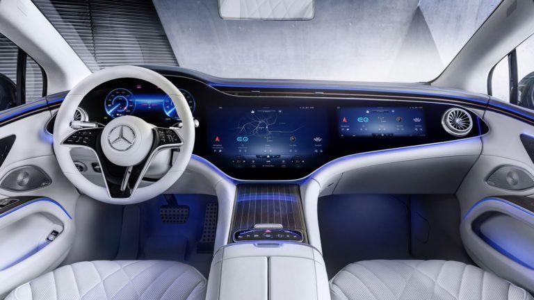 Mercedes EQS Interieur