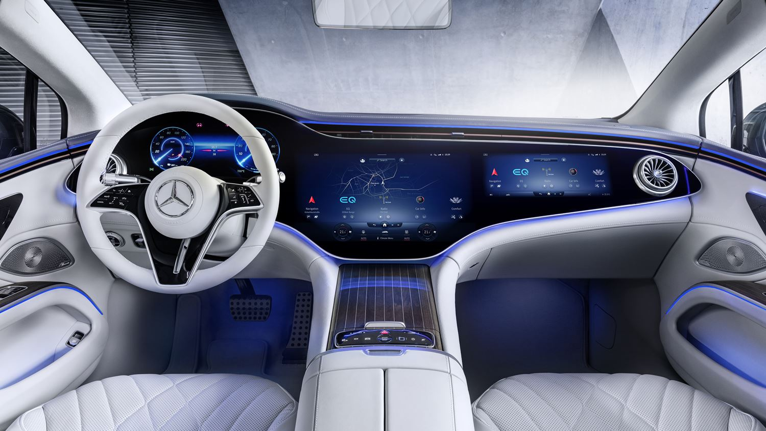 Mercedes EQS Interieur